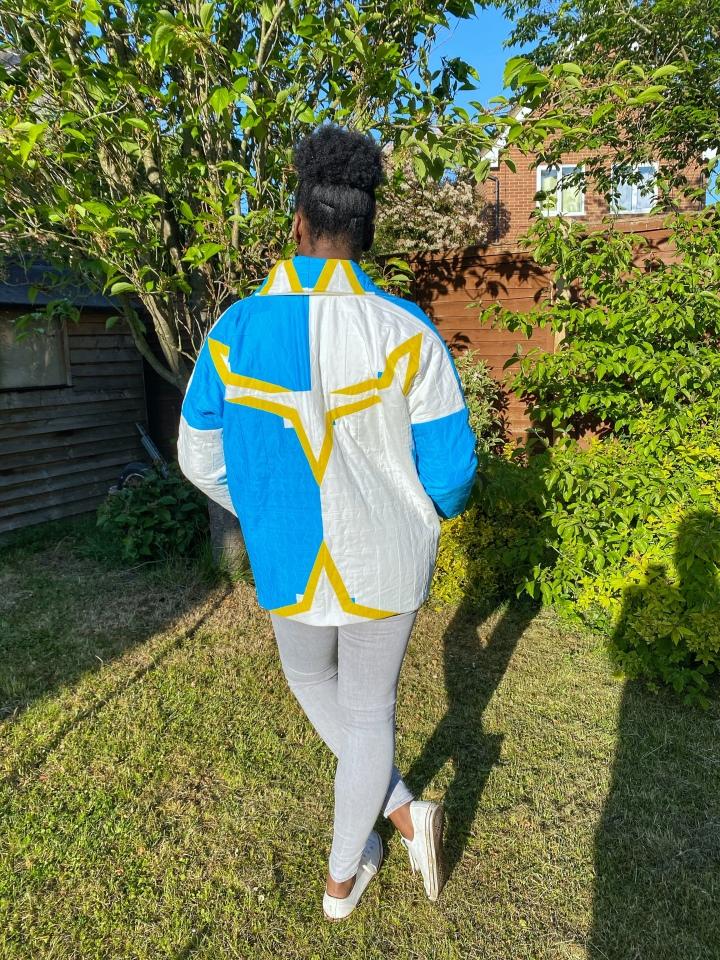 'Unfolding Jacket' byWiksten